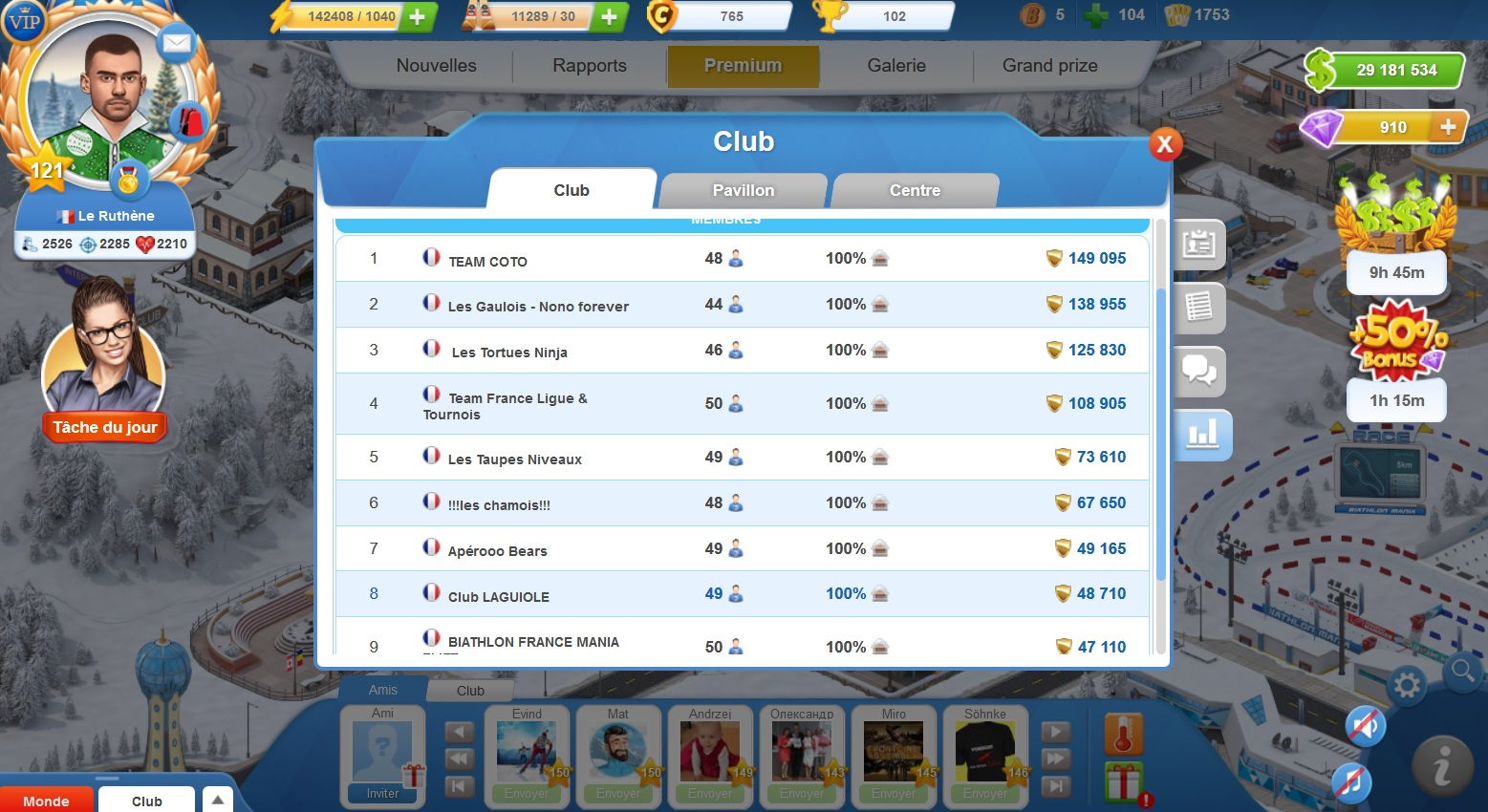 Club Laguiole Biathlon Mania